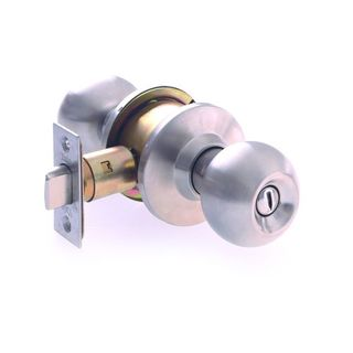 DOMESTIC ENTRANCE LOCK 60/70mm SS BOXED