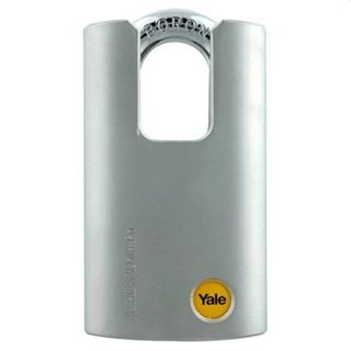 YALE 50MM STEEL CLOSED SHACKLE PADLOCK - SPECIAL