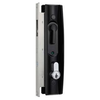 LOCKWOOD 8653 SCREEN DOOR LOCK SLIDING NO CYL BLK