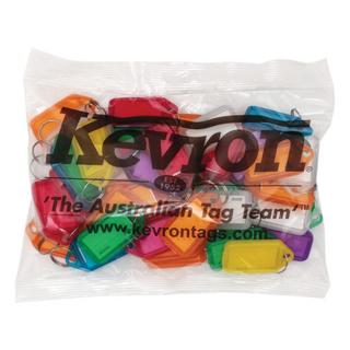 KEVRON CLICKTAG (BAG 50 ASSORTED)