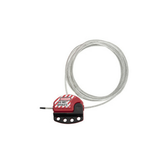 ADJUSTABLE CABLE LOCKOUT 4.5M X 4MM