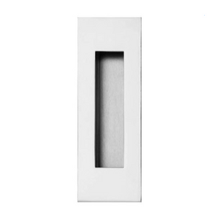 LOCKWOOD FP2 FLUSH PULL 120 x 50MM STAINLESS STEEL