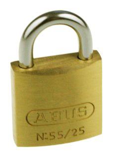 ABUS BRASS PADLOCK KA 25mm
