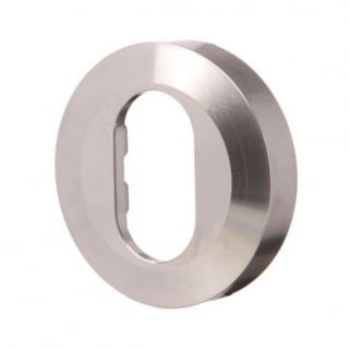 SO - LOCKWOOD ESCUTCHEON OVAL W/CYL HOLE SC