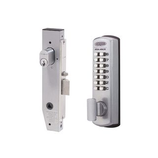 DIGITAL LOCK NARROW W/LEVER LH