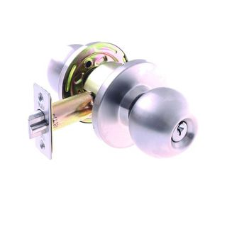COMMERICAL STOREROOM LOCK 6P 70mm SS BOXED