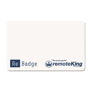 CARD (FOR RE-BADGE DEVICE - 13.56Mhz)