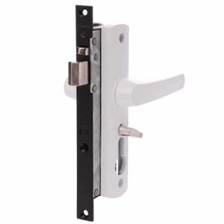 TASMAN MK 2 SCREEN DOOR LOCK WHITE
