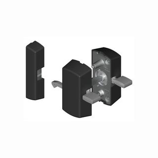 SLIDING DOOR LATCH BLACK