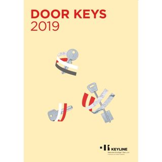 KEYLINE DOOR KEY BOOK