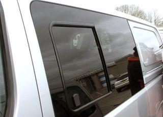 LEFT HAND FRONT BONDED SLIDING WINDOW