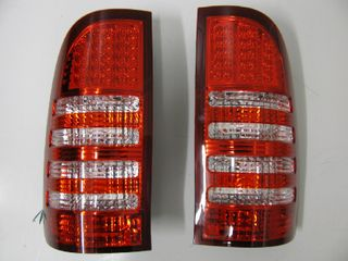 TAIL LAMP SET - LED RED/4 CLEAR LINES