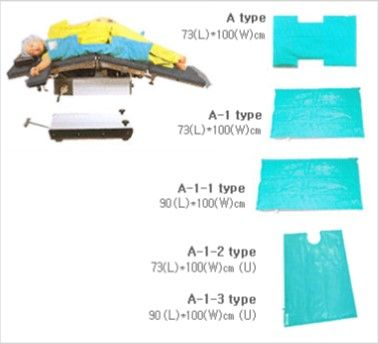 Snow Pac Patient Positioner A-1-4 Type U cutout 90(L) x 118(W)cm