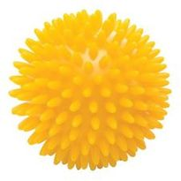 Ball, Reflex 8cm (spikey) Yellow
