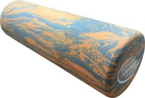 Foam Roller AMS Short Full Round 45cm Orange Grey
