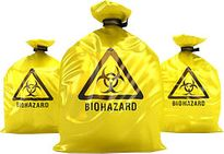 Bag, Biohazard Waste Yellow 65Ltr