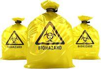 Bag, Biohazard Waste Yellow 65Ltr