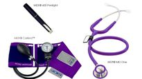 Stethoscope Kit, Calibra MD One MDF Purple