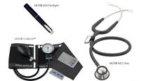 Stethoscope Kit, Calibra MD One MDF Black