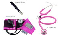 Stethoscope Kit, Calibra MD One MDF Bright Pink