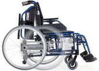 """Wheelchair, Transfer 18"""" with Right & Left Kit Installed"""
