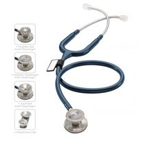 Stethoscope, Epoch Titanium Dual Head MDF Navy Blue