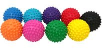 Ball, Reflex Spikey 10cm Assorted Colours Each