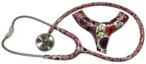 Stethoscope, MPrint MD One Stainless Steel MDF Sugar Skull