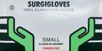 Glove, Vinyl, Powder-Free, Small