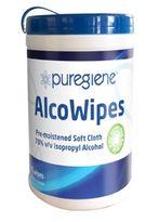 AlcoWipes, Puregiene 70% v/v Isopropyl Alcohol
