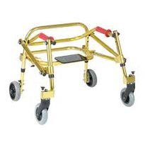 Walker, Nimbo Lightweight Walk Aid, Size 1, Gold