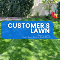 CUSTOMER RESULTS - RAPID GREEN SUN AND SHADE BLEND (CANBERRA)