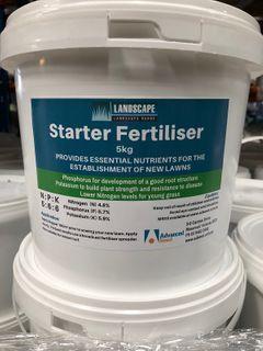 Landscape Range Starter Fertiliser