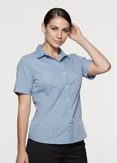 LADY SHIRT SHORT SLEEVE