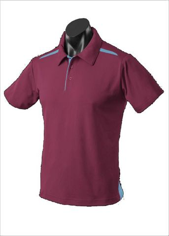 PATERSON MENS POLOS RUNOUT - 1305