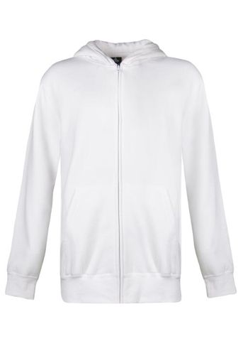** KIDS CRONULLA ZIP HOOD WHITE 4