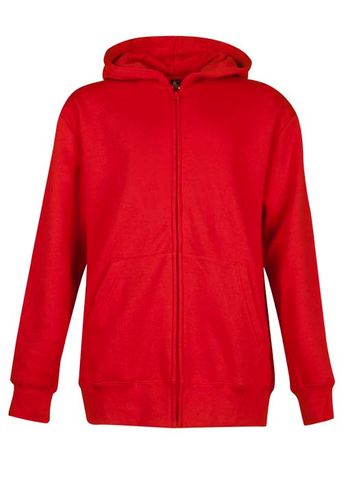 ** KIDS CRONULLA ZIP HOOD RED 4
