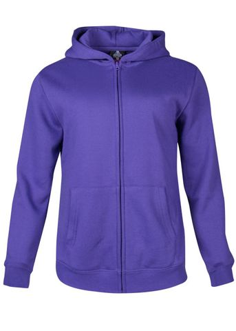 ** KIDS CRONULLA ZIP HOOD PURPLE 4