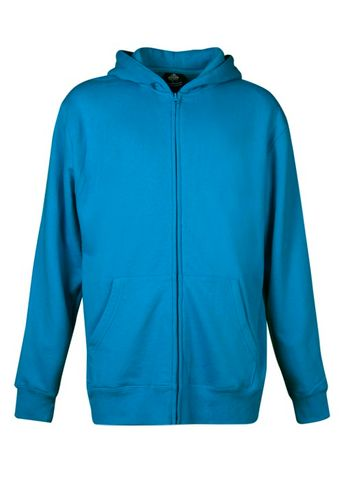 ** KIDS CRONULLA ZIP HOOD PACIFIC BLUE 4