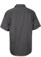 MENS HENLEY SHORT SLEEVE BLACK/SILVER XXS