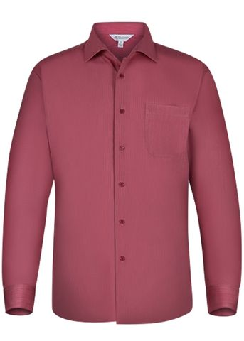 MENS BELAIR LONG SLEEVE RED XXS