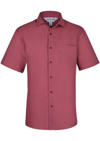 MENS BELAIR SHORT SLEEVE RED XXS