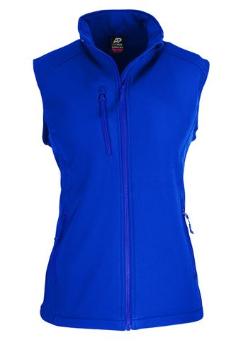 LADY OLYMPUS S/SHELL VEST ROYAL 10