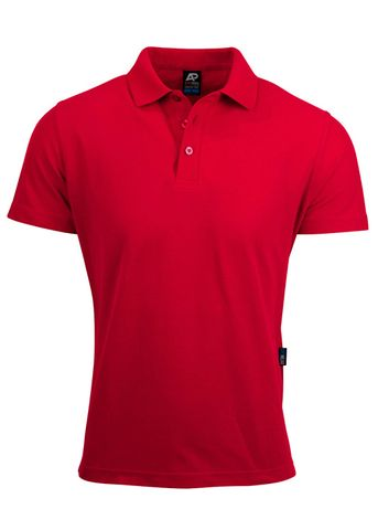 MENS HUNTER POLO RED S