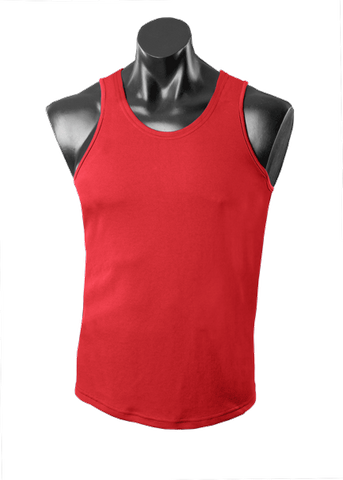 KIDS BOTANY SINGLET RED 8