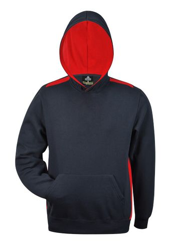 KIDS PATERSON HOOD NAVY/RED 6