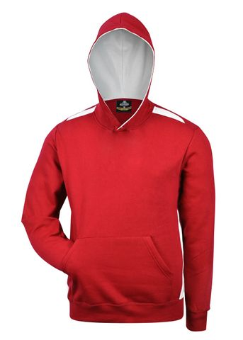 KIDS PATERSON HOOD RED/WHITE 6