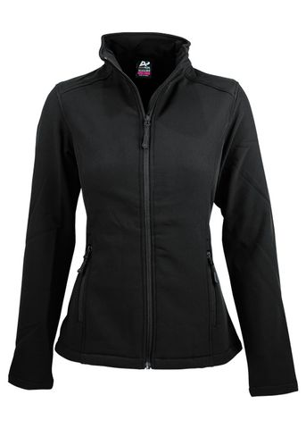 LADY SELWYN S/SHELL JKT BLACK 10