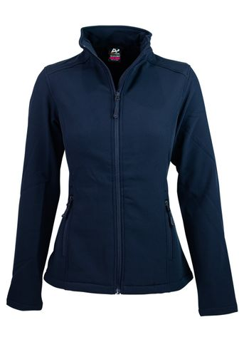 LADY SELWYN S/SHELL JKT NAVY 10