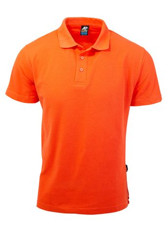 KIDS HUNTER POLO ORANGE 6